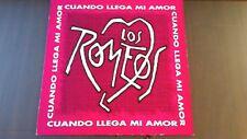 """LOS ROMEOS """"CUANDO LLEGA EL AMOR"""" MAXI 1993 HISPAVOX"""