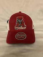 Alabama Crimson Tide Elephant Old Logo NCAA Trucker Mesh Adjustable Hat/Cap New