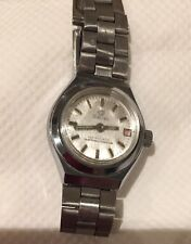VINTAGE SULINA SWISS WRISTWATCH ANTIMAGNETIC METAL STAINLESS STEEL