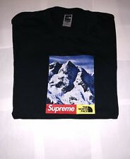 Supreme ®/The North Face ® Mountain T-SHIRT * Nero * * Grande *