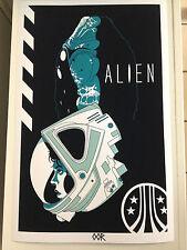 Alien Ripley movie poster print