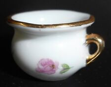 Limoges Chamber Pot One Inch Made In France free shipping