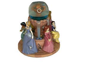 Disney Princess snow globe (Ariel, Cinderella, Sleeping Beauty, Belle, Jasmine)