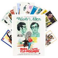 Postcards Pack [24 cards] WOODY ALLEN Vintage Movie Posters CC1359