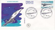Enveloppe 1er jour FDC 1969 - Concorde Premier Vol