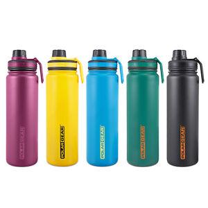 Polar Gear Stainless Steel Water Bottle | Hydra Flow 700ml | Vacuum Insulated
