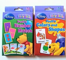 Disney Learn With Pooh Early Skills Flash Cards - Number Match Colors and Shapes