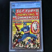 SGT. FURY and HIS HOWLING COMMANDOS #13 (1964) 💥 CBCS 9.0 💥 Captain America