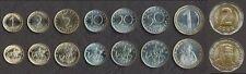 BULGARIA COMPLETE COIN SET 1+2+5+10+20+50 Stotinka +1+2 Leva 1999-2015 UNC LOT 8