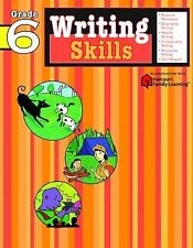 Writing Skills: Grade 6 (Flash Kids Harcourt Family Learning) by SparkNotes...