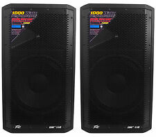"(2) Peavey DM 112 12"" 1000W Active Powered PA Speakers+Digital DSP"