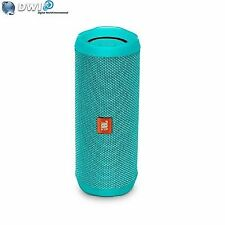 JBL Flip 4 Waterproof Ipx7 Portable Bluetooth Speaker Teal Travel Case - Green