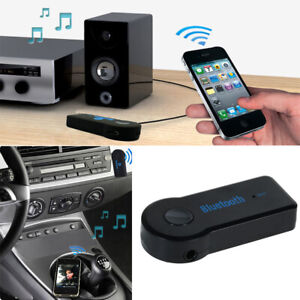 1PC SUV Wireless Bluetooth 3.5mm AUX Audio Stereo Music Car Receiver Adapter Mic