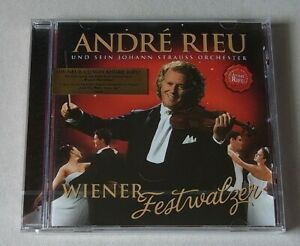 CD : ANDRÉ RIEU uns sein Johann Strauss Orchester 'Wiener Festwalzer' - neu!!