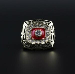 1990 Buffalo Bills American Football Team Ring Souvenirs Fan Men Gift