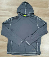 Under Armour Womens Hoodie Size XL Catalyst All Season Loose Fit Gray