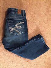 BKE Denim Women's Designer Capri Jeans,Sz 30. EUC