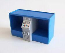 PLAYMOBIL (G1241) POMPIERS - Meuble Bleu Clair Bouteilles à Oxygène Caserne 3885