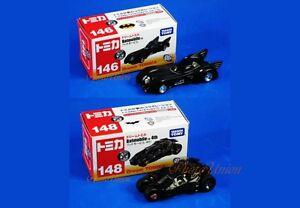 Takara Tomy Dream Tomica 146 148 Batman Batmobile DC Universe Car A584_A585