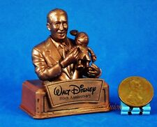 Walt Disney 110th Anniversary Mickey Mouse Cake Topper Statue Figure Model A572