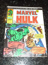 Mighty World of MARVEL Starring the INCREDIBLE HULK -  No 167 - Date 13/12/1975