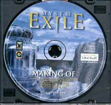 The Making of Myst III 3 Exile PC CD-ROM - Brand New