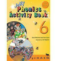 Jolly Phonics Activity Book 6: in Precursive Letters (BE) by Sue Lloyd, Sara...