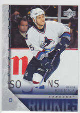 2005 05-06 Upper Deck #478 Kevin Bieksa YG Young Guns RC Rookie