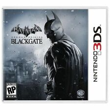 Nintendo 3DS Batman Arkham Origins Blackgate Brand New Video Game Factory Sealed