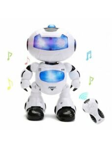 Remote Control Robot Toy With Music Lights Girl Birthday Party Great Gift
