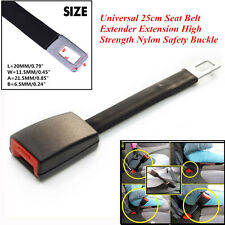 Car Off Road 25cm Seat Belt Extender Extension High Strength Nylon Safety Buckle
