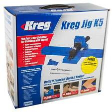 Kreg Jig Pocket Hole Joinery Kit Woodwork Joint Clamping Carpentry Tool Set K5