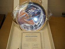 Uss Enterprise - Star Trek hamilton Collector Plate - with Coa