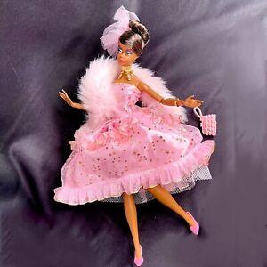 Barbie Fashion Model Silkstone African American Black AA Pink Party Dress Ltd Ed