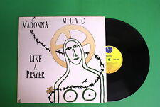 Madonna - Like a Prayer - Sire UK: W 7539 T / 921 189 - 45 rpm - Made in Germany