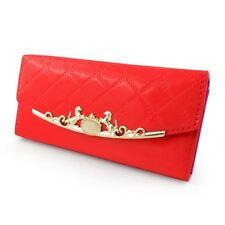 Porte-monnaie rouge organiseur pour femme