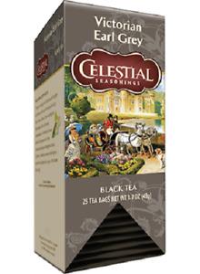 Celestial Seasonings British Black Teas, NEW 25 bags boxed, Your Choice(s)
