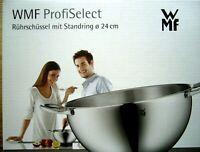 WMF PROFI SELECT Rührschüssel mit Standring Drm. 24 cm +neu und ovp++