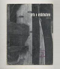 1963 Frei Otto ARTS + ARCHITECTURE Herbert BAYER Roger DARRICARRERE Andre BLOC