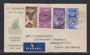 UK: 1948  OLYMPICS  FDC