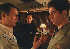 "Mads Mikkelsen & Clemens Schick ""James Bond"" Autogramme signed 20x30 cm Bild"