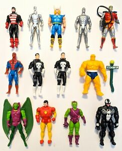 CHOOSE: 1990/1991/1992/1994 Marvel Super Heroes Action Figure *Combine Shipping!