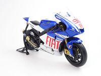 Motorcycle model Jorge Lorenzo Fiat Yamaha 2009 1:12 model MotoGP model