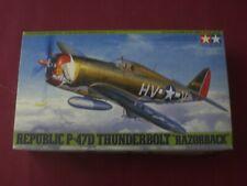 """Republic P-47D Thunderbolt """"Razorback""""- SCALA 1/48 Tamiya"""