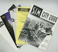Macintosh SimCity 2000 (1993; 3.5in floppy Discs) Manual &  Extras - FAST SHIP!