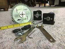 """Machifit Motor 12V 795, 12-24V 895, 4"""" Saw, Drill Chuck With Accessories"""