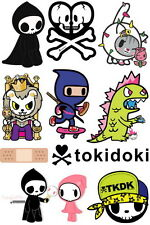 Tokidoki Cartoon Skateboard Snowboard Luggage Car Bike Vinyl Stickers F0064