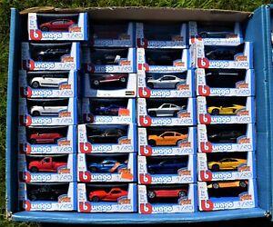 Burago Fuoco Pressofuso 1/43 Audi R8 Porsche 911 Lamborghini MUSTANG Dodge Liz