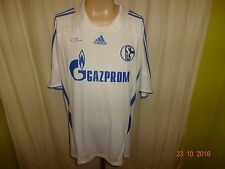 """FC Schalke 04 Original Adidas Auswärts Trikot 2007/08 """"GAZPROM"""" Gr.XXL TOP"""