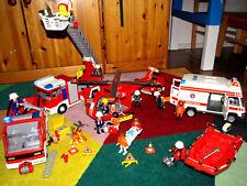 Playmobil, Feuerwehr, Krankenwagen, Rettungsfahrzeuge